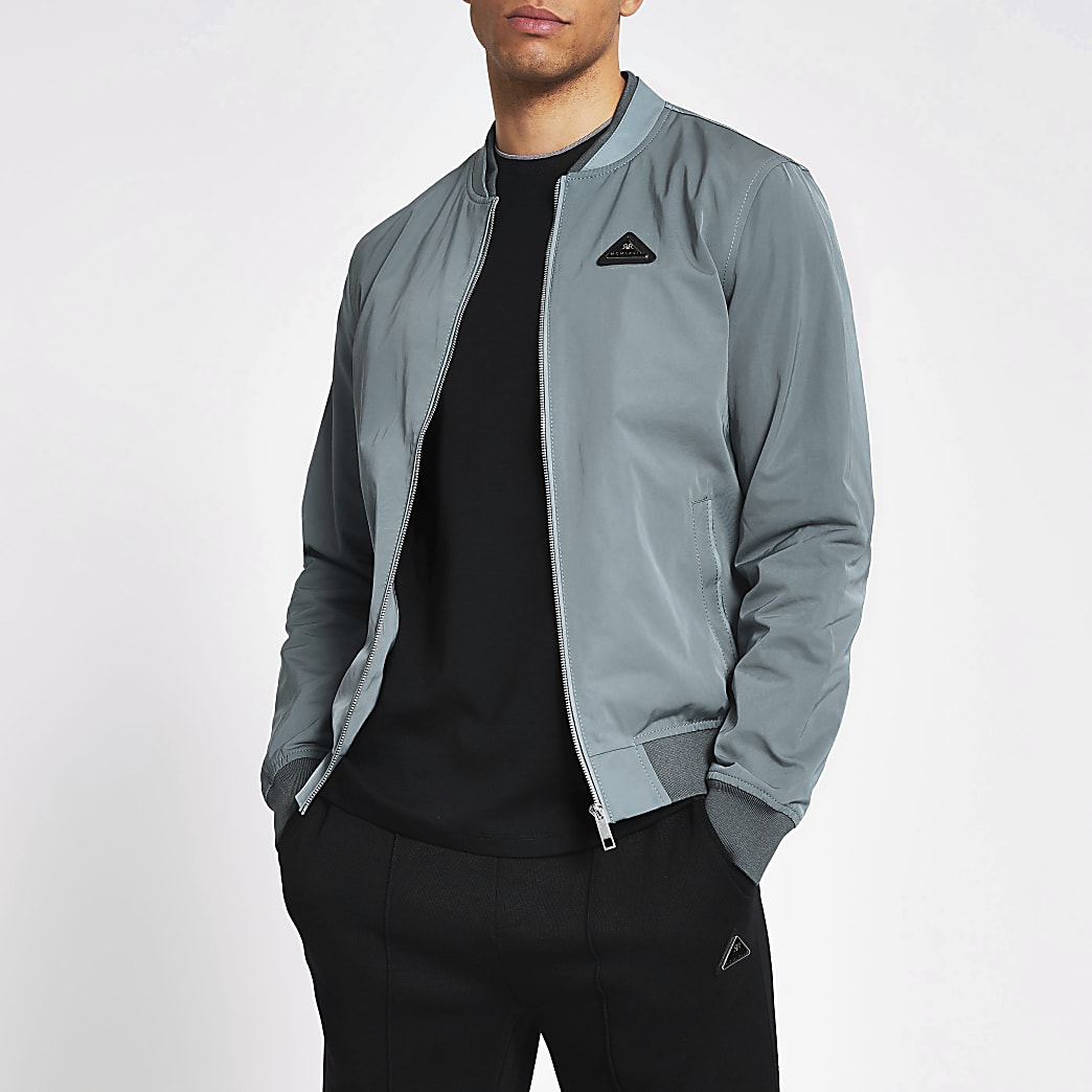 MCMLX light blue bomber jacket