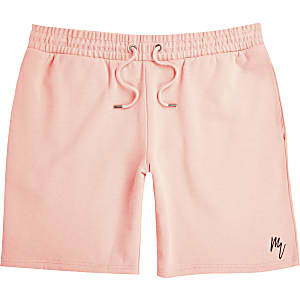 Mens Masion Riviera coral slim fit shorts