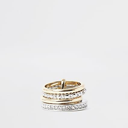 Metal multipack ring