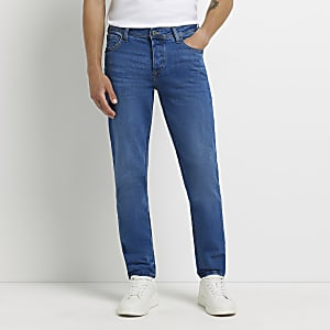 Dylan - Middenblauwe slim-fit jeans