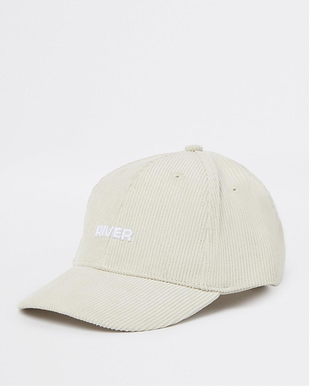 Mini boys beige River cord cap