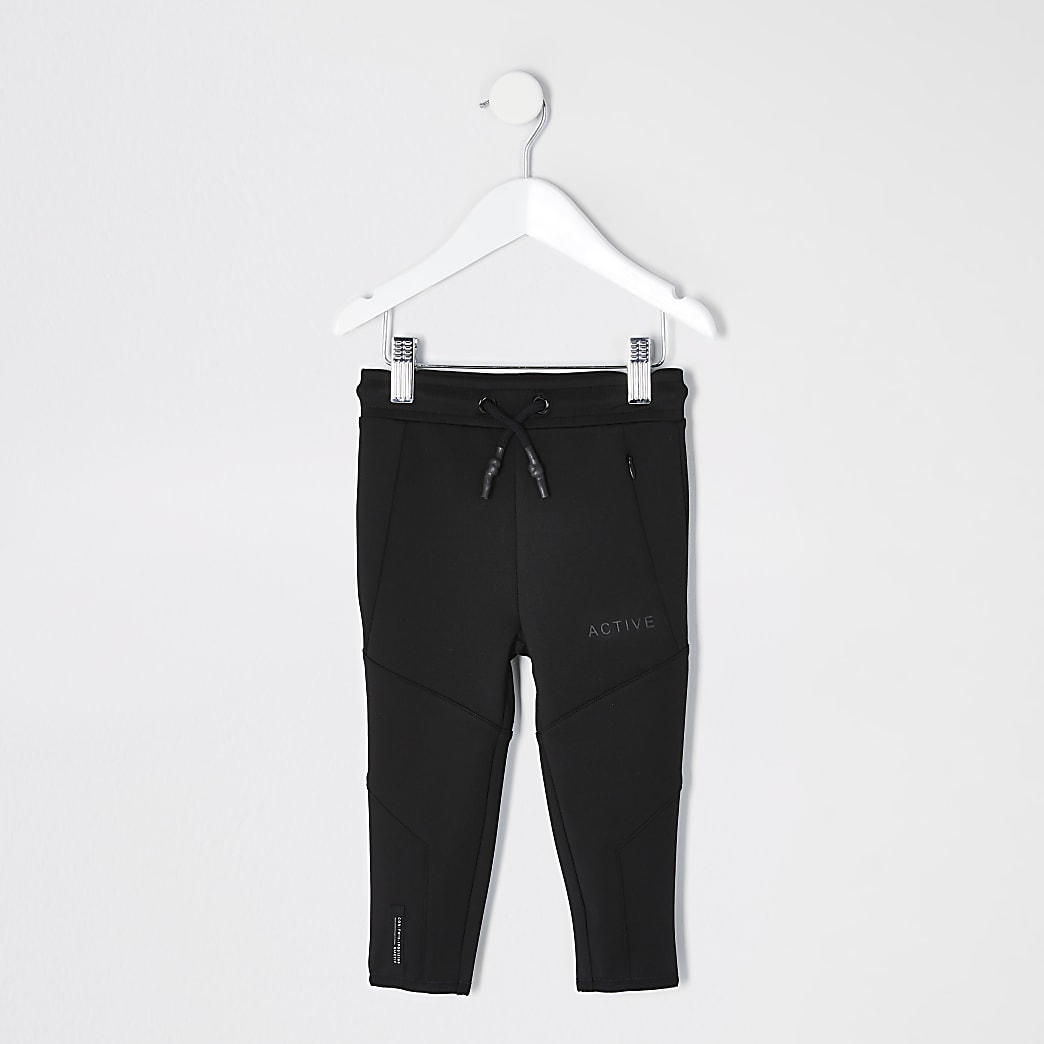 Mini boys black RI Active scuba joggers