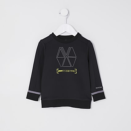 Mini boys black RI Active scuba sweatshirt