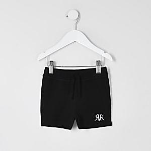 Mini - Zwarte RVR shorts voor jongens