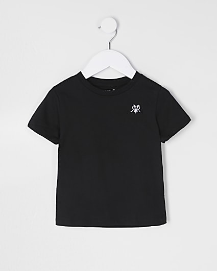 Mini boys black RVR t-shirt