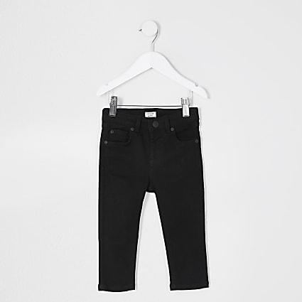 Mini boys black skinny fit jean