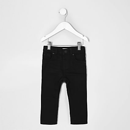 Mini boys black skinny jean