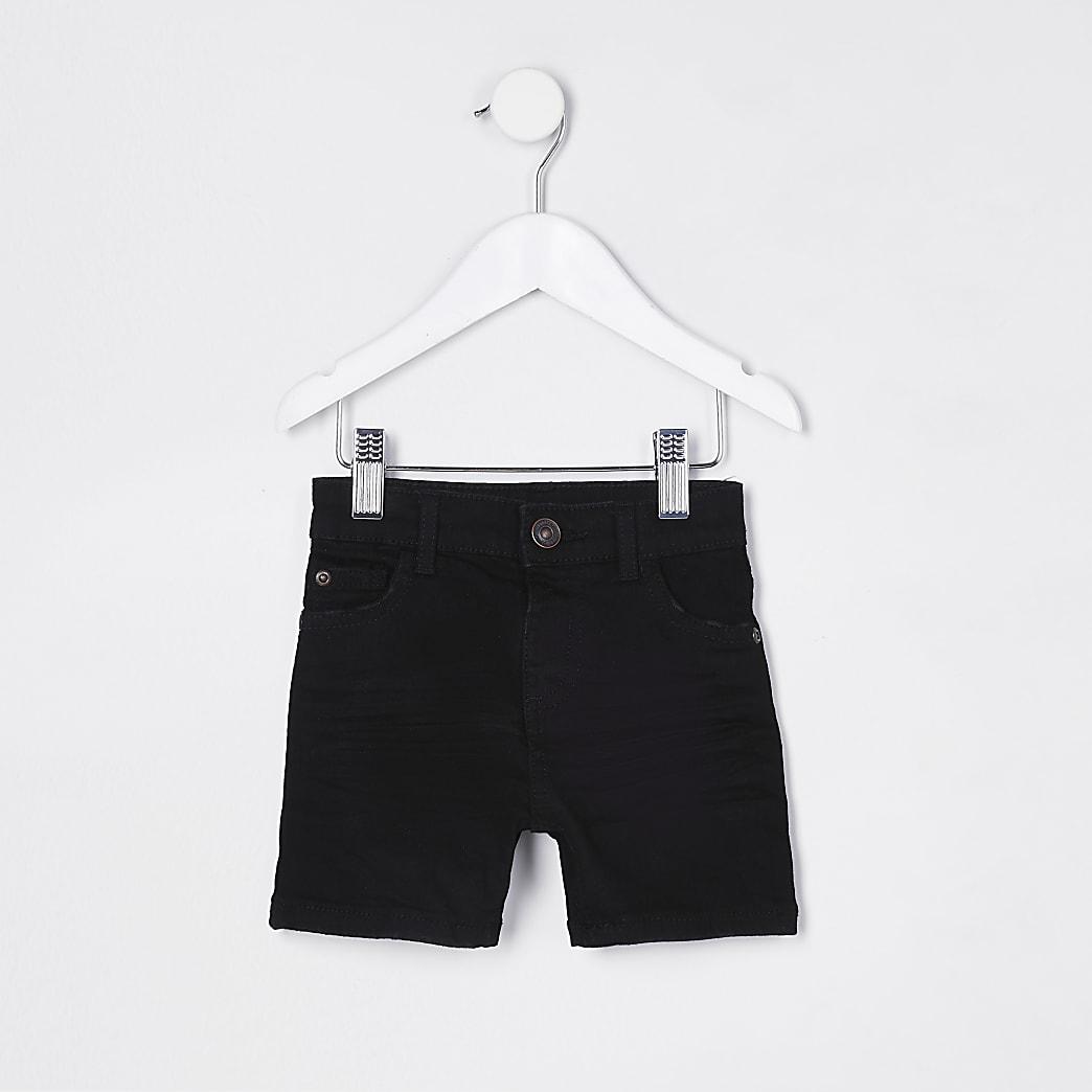 Mini boys black skinny short