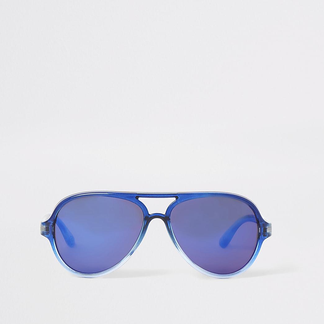 Mini boys blue aviator sunglasses