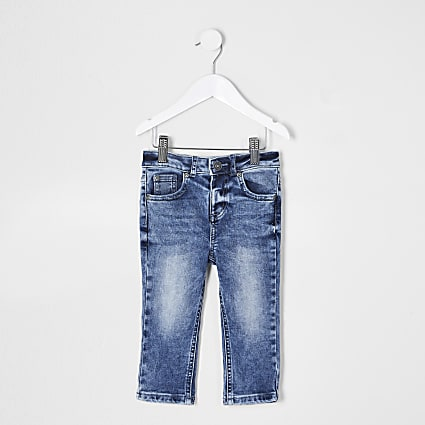 Mini boys blue Danny skinny fit jeans