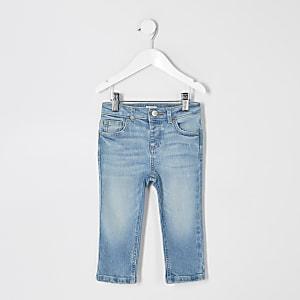 Mini – Jake – Blaue Jeans im Regular Fit für Jungen