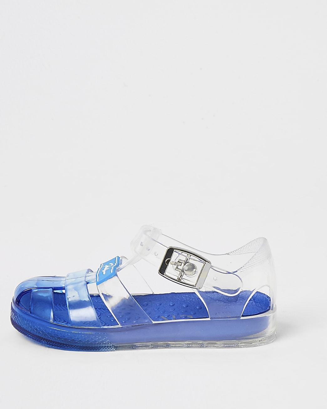 Mini boys blue Prolific jelly sandals