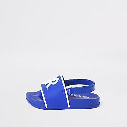 Mini boys blue RVR sliders