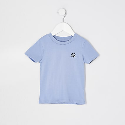 Mini boys blue RVR t-shirt