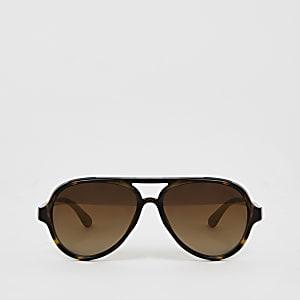 Mini – Braune Pilotensonnenbrille für Jungen