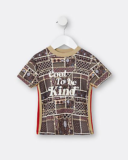 Mini boys 'cool to be kind' t-shirt