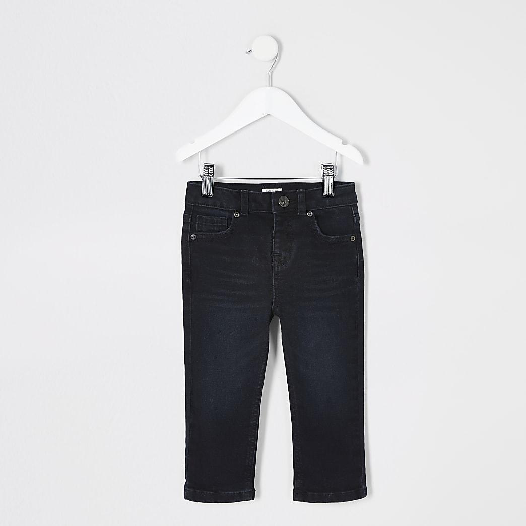 Mini - Donkerblauwe regular-fit Jake jeans voor jongens