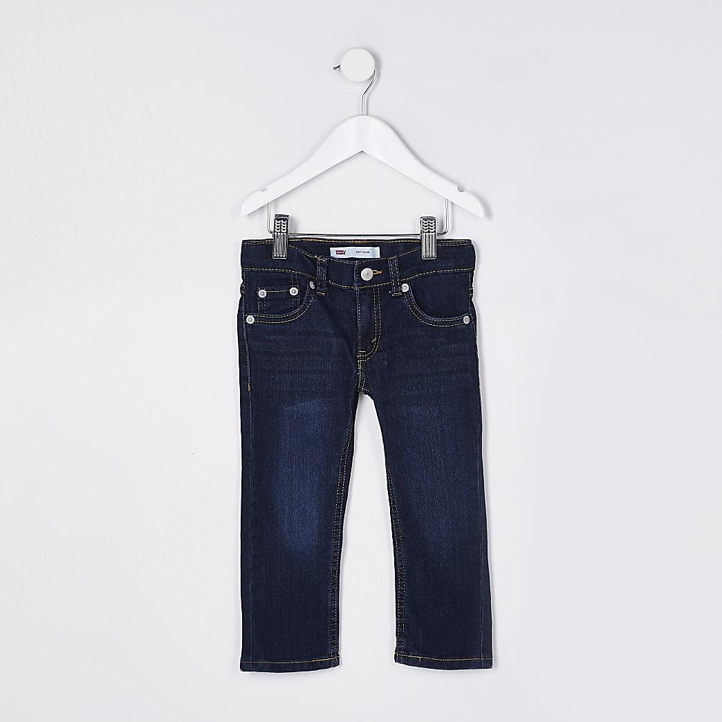 Mini boys dark blue Levi's slim fit jeans