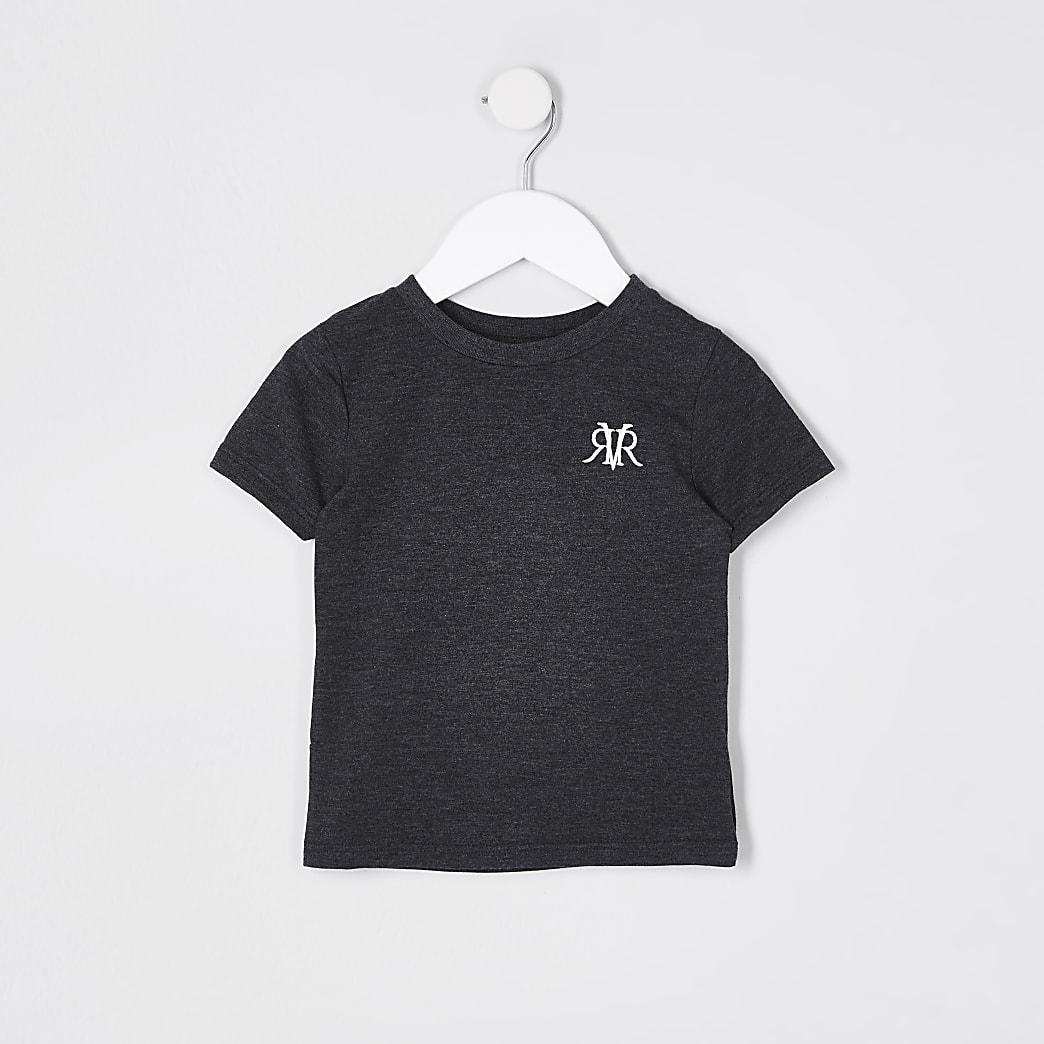Mini boys dark grey RVR T-shirt