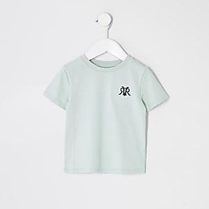 Lot de t-shirts RVR vert clairMini garçon