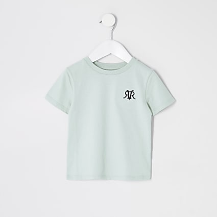 Mini boys Green- light RVR Multibuy Tshirt
