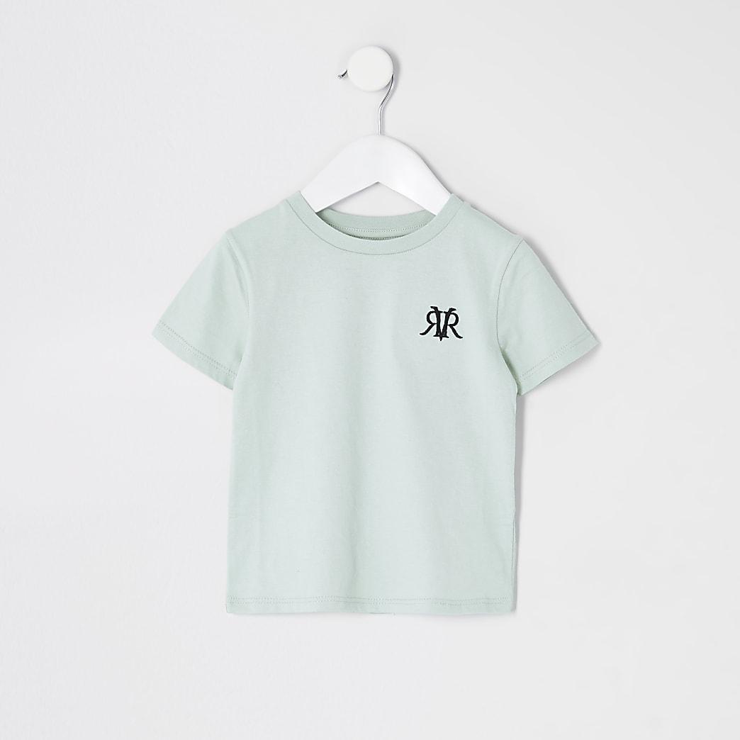 Mini boys Green- light RVR Multibuy Tshirt