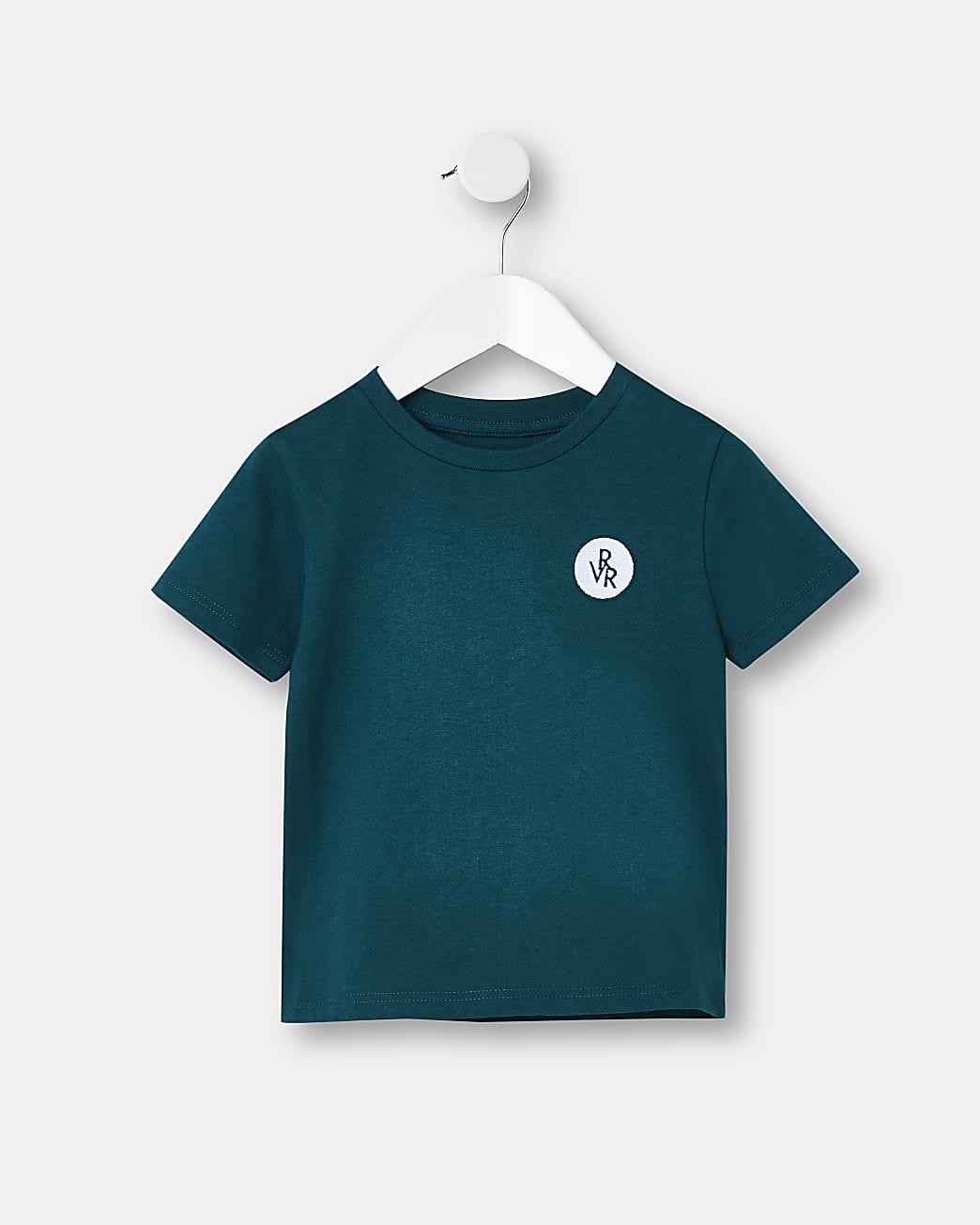 Mini boys green RVR t-shirt
