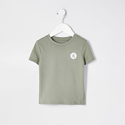 Mini boys green RVR t-shirt