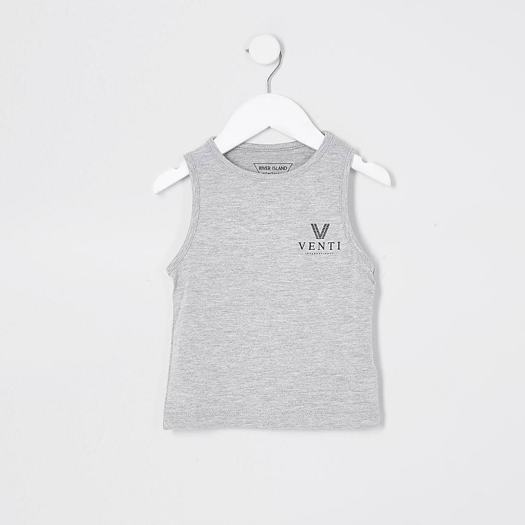 Mini boys grey multibuy vest