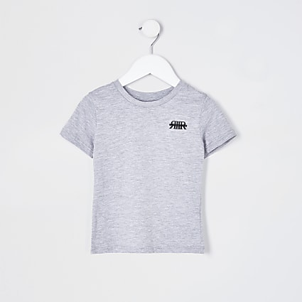 Mini boys grey RIR t-shirt