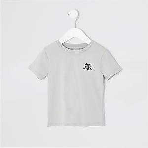 Mini – Graues RVR-T-Shirt für Jungen