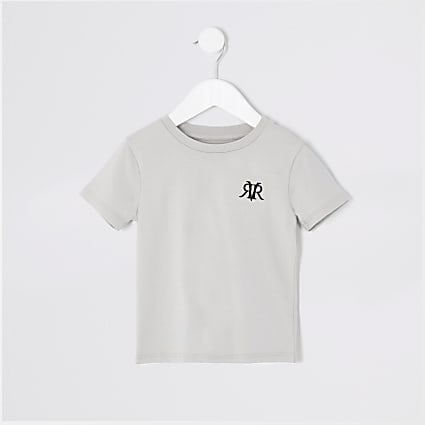 Mini boys grey RVR T-shirt