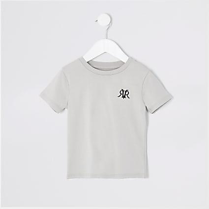 Mini boys grey RVR T-shirt