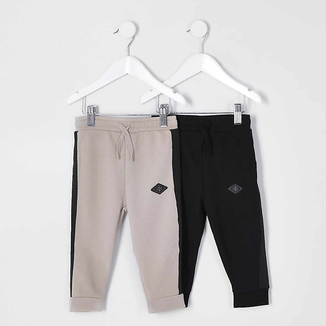 Mini boys joggers 2 pack