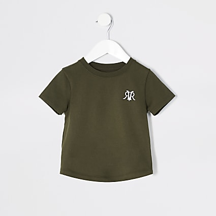 Mini boys khaki RVR T-shirt