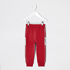 Mini - Levi's - Rode joggingbroek voor jongens