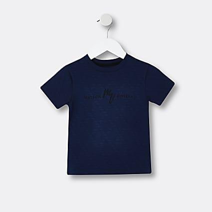 Mini boys navy Maison Riviera t-shirt