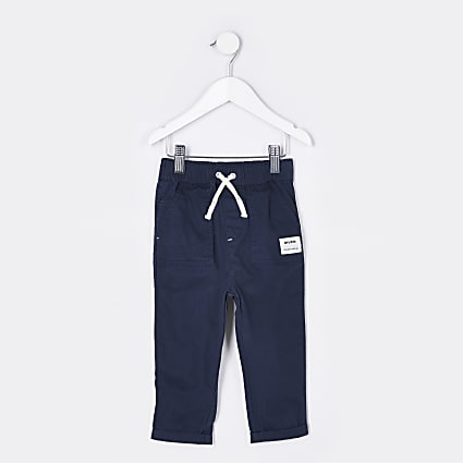 Mini boys navy River trousers