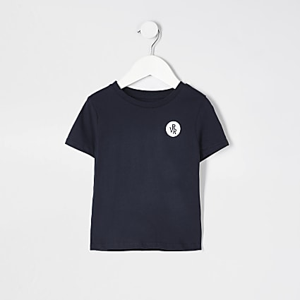 Mini boys navy RVR t-shirt