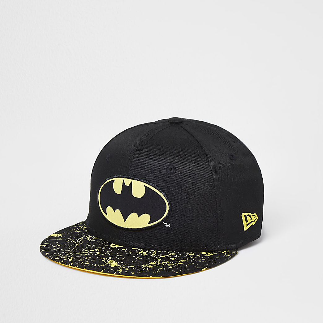 Mini boys New Era Batman cap
