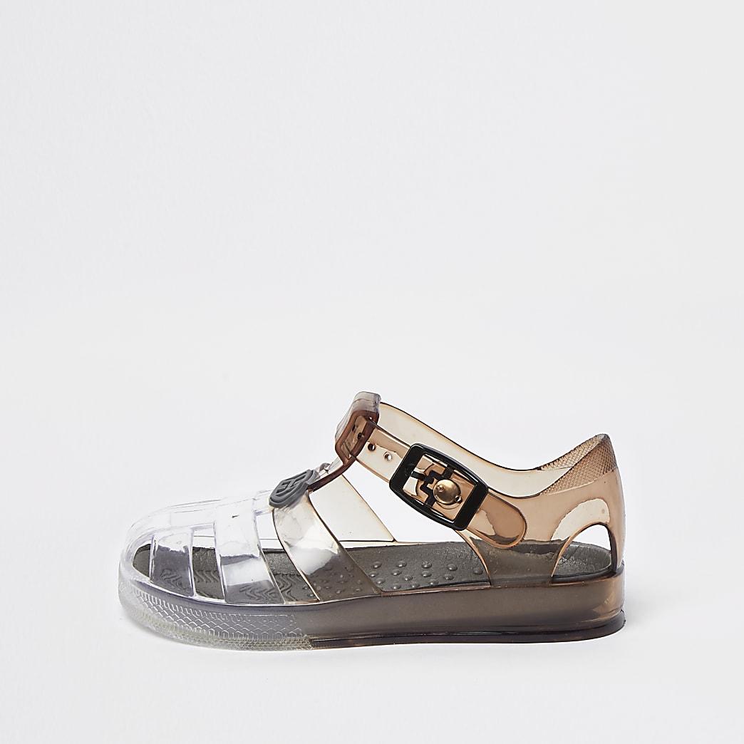 Mini boys ombre jellie sandals