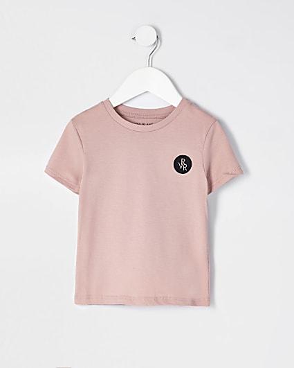 Mini boys pink RVR t-shirt