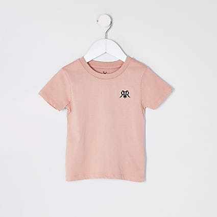 Mini boys pink RVR t-shirt