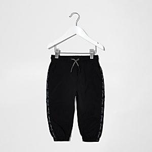 Mini – Prolific– Schwarze Jogginghose mit Tape