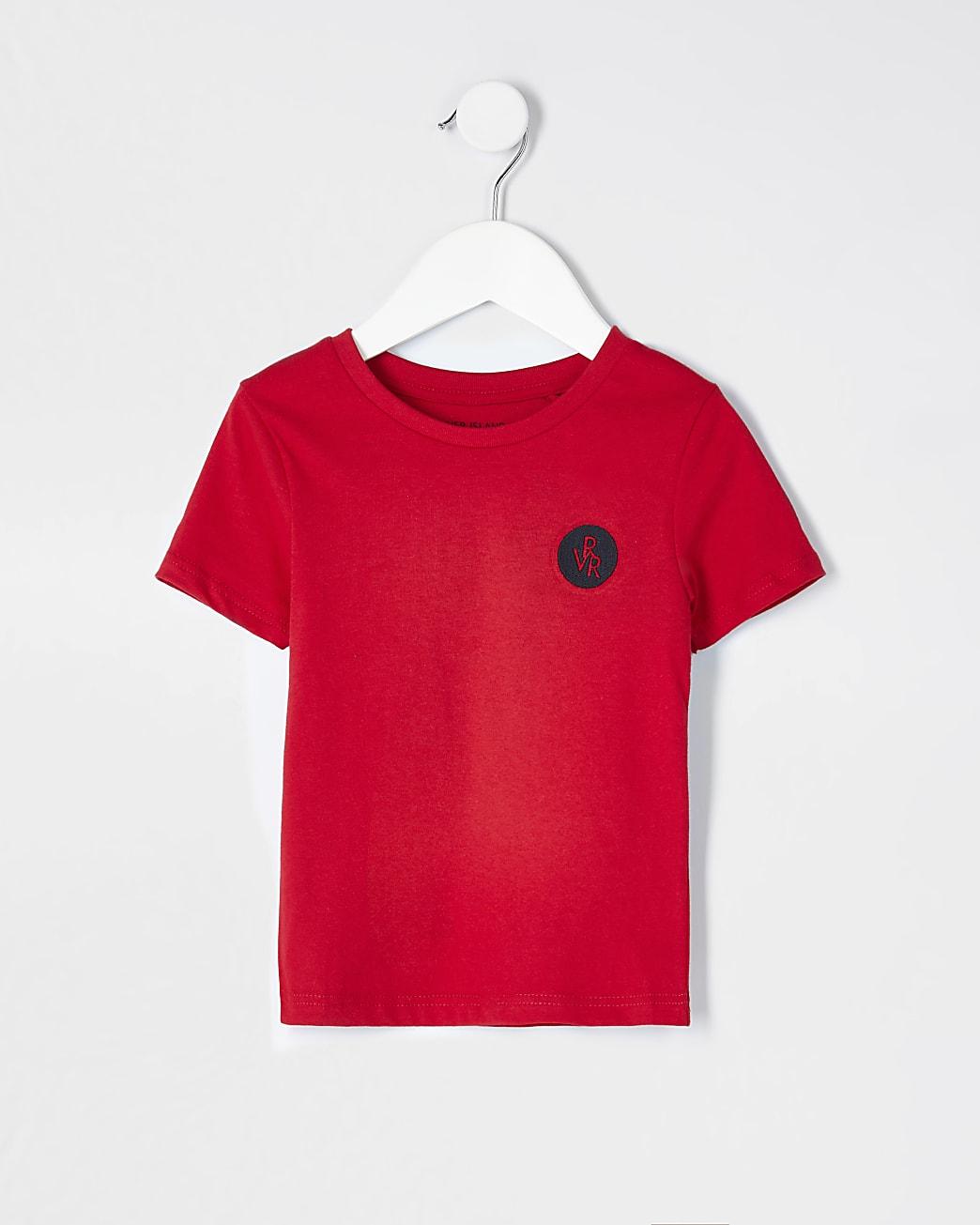Mini boys red RVR t-shirt