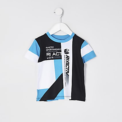 Mini boys RI Active colour blocked t-shirt