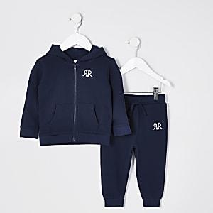 Hoodie-outfit met RI-logo voor mini-jongens