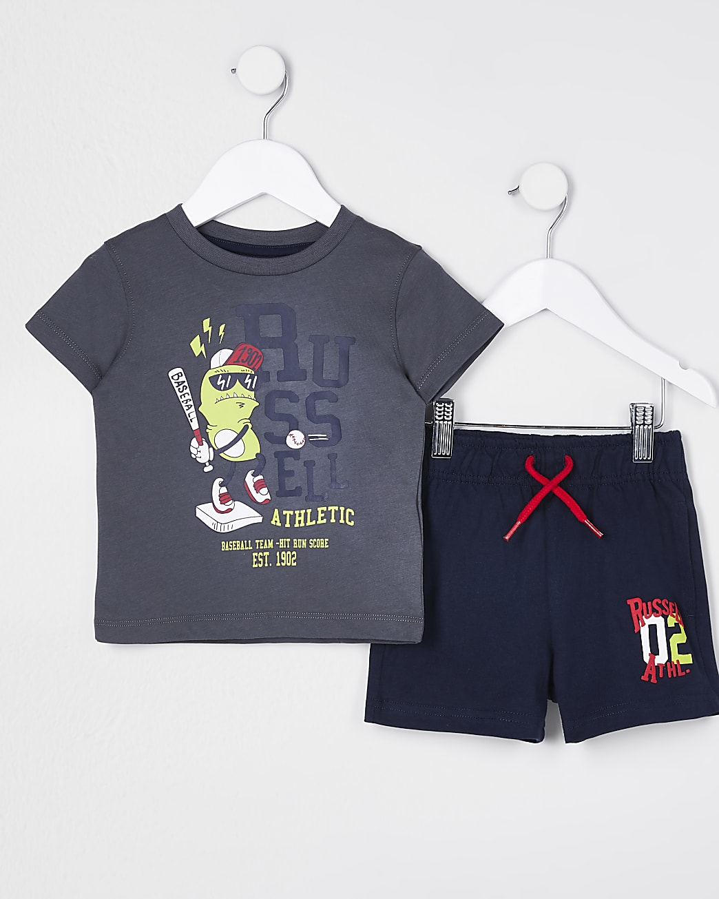 Mini boys Russell Athletic t-shirt outfit