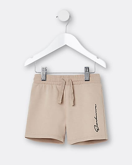 Mini boys stone 'Exclusive' shorts
