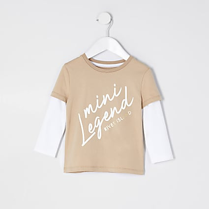 Mini boys stone 'Mini legend' t-shirt
